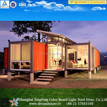 prefab shipping container apartment model/living container homes/modular house