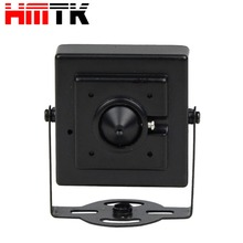 cctv hidden camera outdoor 4MP resolution with pinhole lens metal case for secret private place security