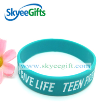 colorful printing silicone rubber wristband,cheap silicon rubber band wholesale