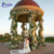 Factory hand carved Western European style simple outdoor garden wedding gazebos for sale