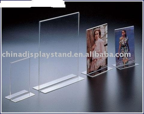 acrylic photo frame/acrylic menu holder
