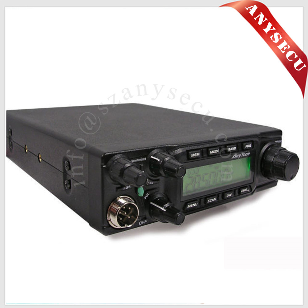 2016 new arrival hf ssb transceiver 60W 28MHz Anytone AT-6666 CB radio For Service Industry