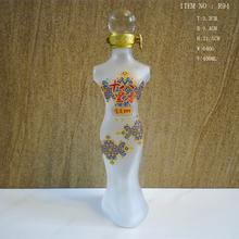 Factory Wholesale High Quality Strange Glass Bottle Frosted Or Clear With Custom Logo Or Not
