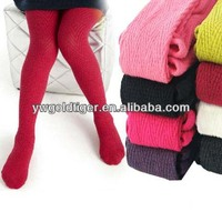 New Autumn Winter Wholesale Candy Color Vertical Bar Boneless Elegant Princess Hot Children Cotton Tights