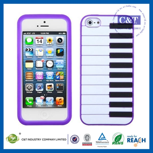 hot selling ultra thin luxury case silicon mobile phone case for iphone 5c