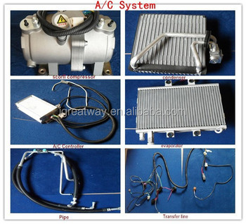 A/C system for electric car