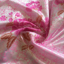 100% polyester printed knitted tricot fabric for mattress