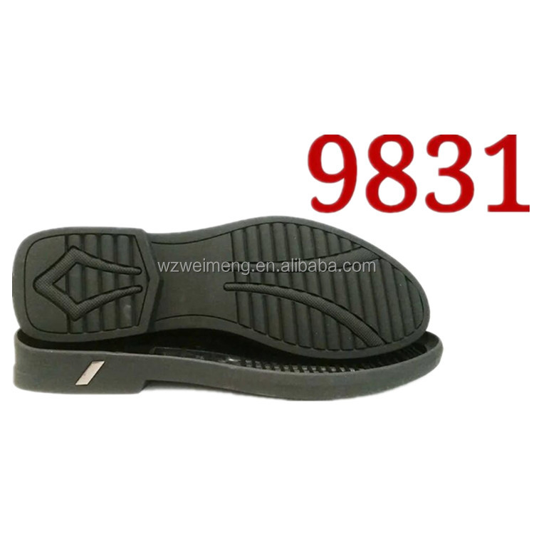 Soft Crepe rubber sole synthetic rubber outsoles for man casual shoe making