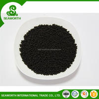 Personalized humic substance granular with color