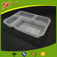 Takeaway lunch box disposable food tray