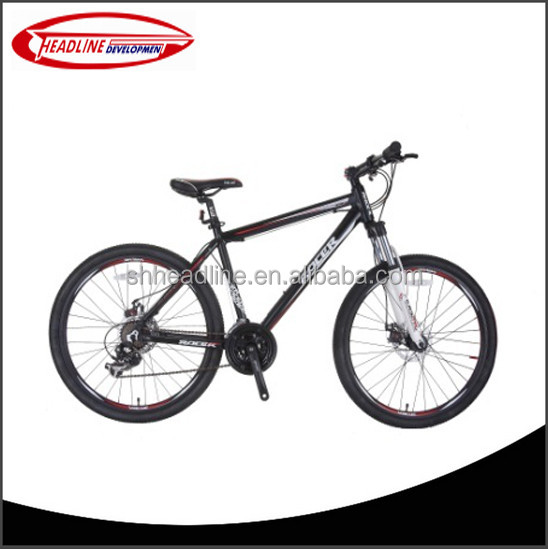 2016 new design adult mountain bike 26'' wheel size steel Frame price