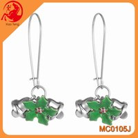 Alibaba korean style earrings bells charms earings for christmas