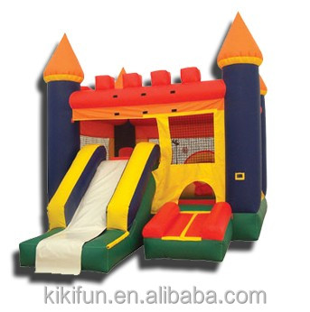 2016 Promotion popular inflatable combo, commercial bounce houses for sale, kids inflatable amusement park equipment for export