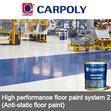 Carpoly High performance floor paint system, Anti-static floor paint, floor coating