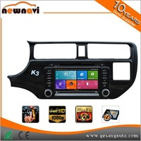 8 inch capacitance touch screen car dvd player with gps for K3 / RIO 2012-