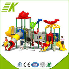 park used playground equipment metal slides for kids sale