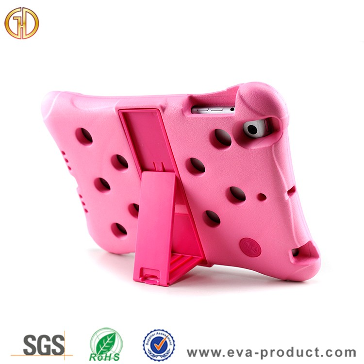 Pink color EVA foam material protective tablet case for ipad mini 2