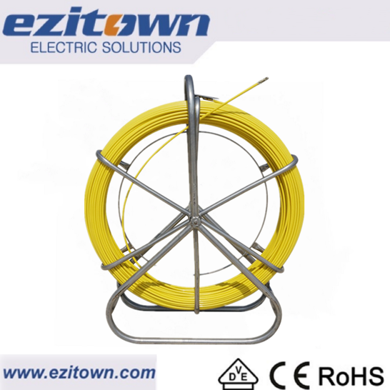 ST15 Yellow cable electrical fish tape fiberglass fish tape no wheels diameter: 4.5mm good price fish tape