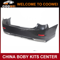 10-12 Reiz Aimgain Fiberglass Rear Bumper for Toyota Mark X Body kit