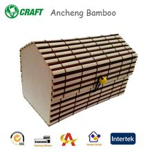 beautiful gift bamboo wood box bamboo wine box for sale