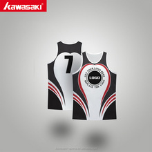 Professional printing colored sports singlets cheap men sports vest