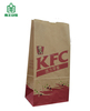 Food grade paper bag SOS paper bag, sharp bottom paper bag, takeaway paper bag