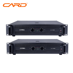 CARD brand electronic power amplifier,professional ktv amplifier with low repair rate