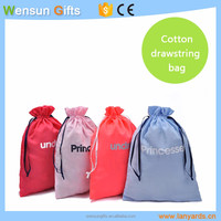 Cotton drawstring bag for under wears cheap for promotion