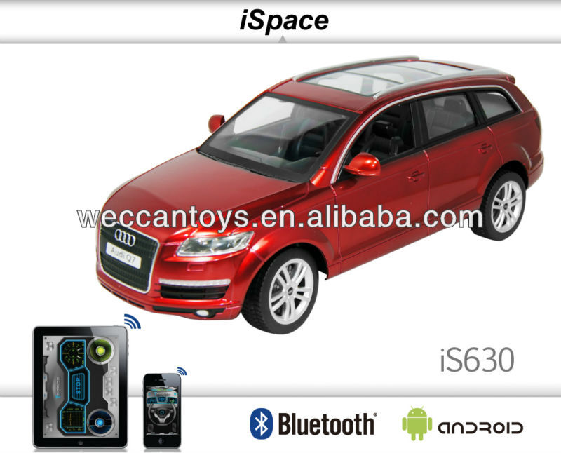 New and hot product! android controlled car bluetooth rc audi q7 rc car