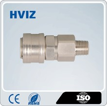 Female male quick air hose coupler, stainless steel pneumatic quick coupling