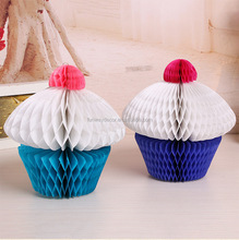 Paper Honeycomb Cake for Birthday Wedding Decoration Honeycomb Balls for Party and Event Supply