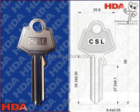 Factory price OEM customized key blanks painted