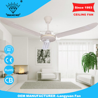Factory wholesale 56inch best ceiling fan brand with high rpm