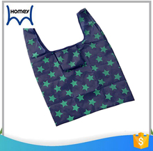 Flower reusable foldable hanger antibacterial shopping bag