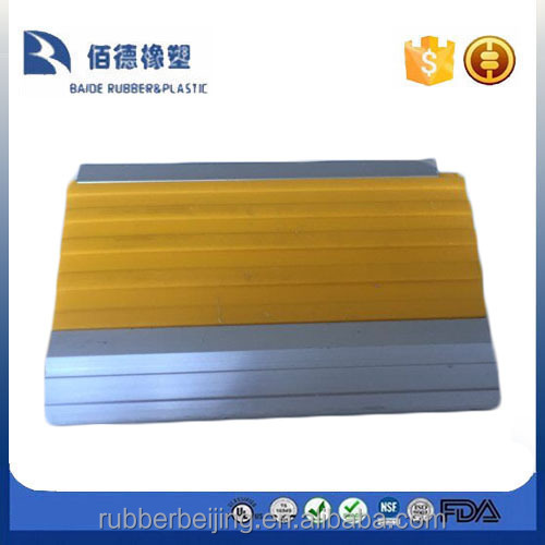 Rubber Ribbed Profile Square Wall Base