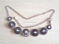 High quality vintage chain belt for women dress
