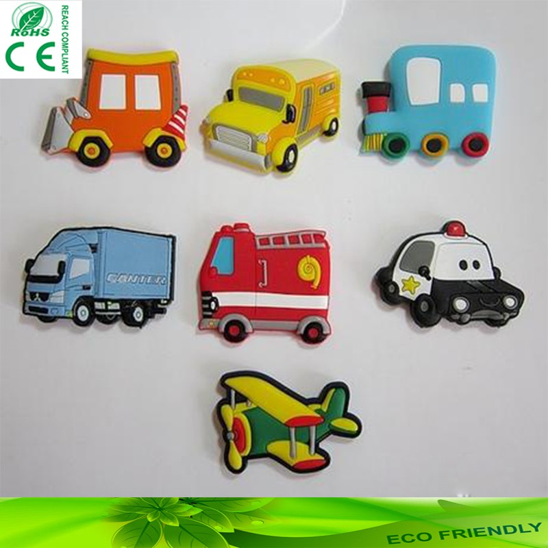Customized Rubber 3D PVC Fridge Magnet Lovely Cartoon Fridge Magnet