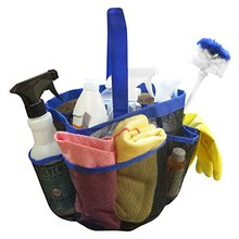 Amazon Hot Selling Foldable 8 pocket Mesh Hanging shower caddy Tote Bathroom Organizer/hanging bag organizer