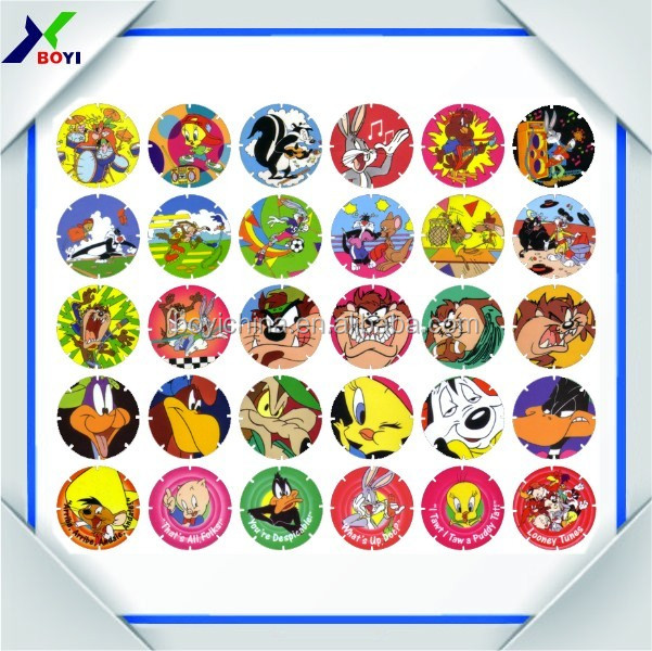 Factory Direct Sale Pokemon Tazos Cards, Pog Games by OEM design