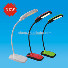 Portable Modern Fancy Flexible Gooseneck Led Desk Lamp with USB charger