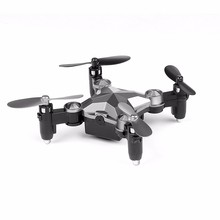 Kattop K17 Titanium Gray Mini Drohn, RC Watch Quadcopter with 640P HD Camera, Wristwatch Drone with WIFI Control
