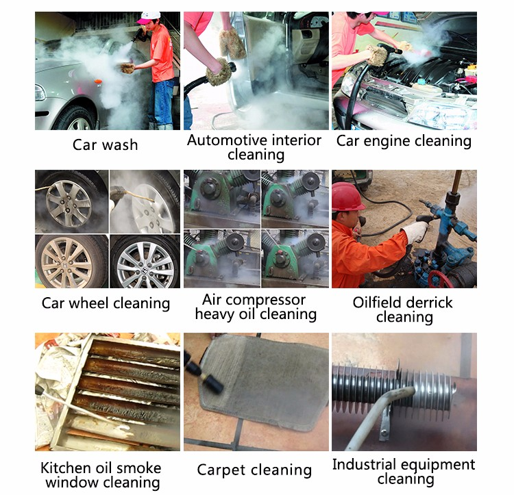 Functions of Steam Wash Car with C600