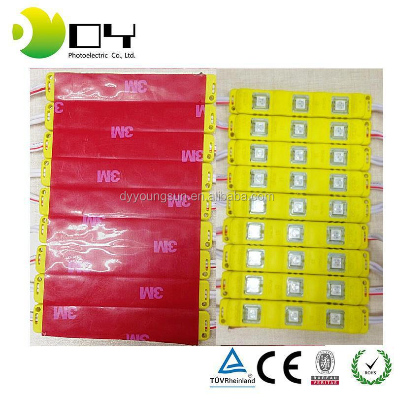 5730 SMD 3LEDs LED Module White Warm White RGB Waterproof Light Advertising Lamp DC 12V LED Module RGB LEDs Modulo Light