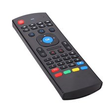Top selling 2.4G Wireless Air Fly Mouse+Keyboard+Remote Controller For android tv box
