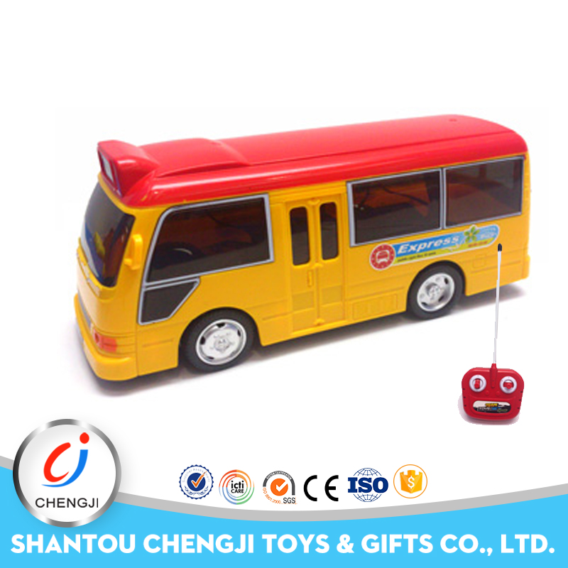 China wholesale Toys 4channel scale rc bus model with light