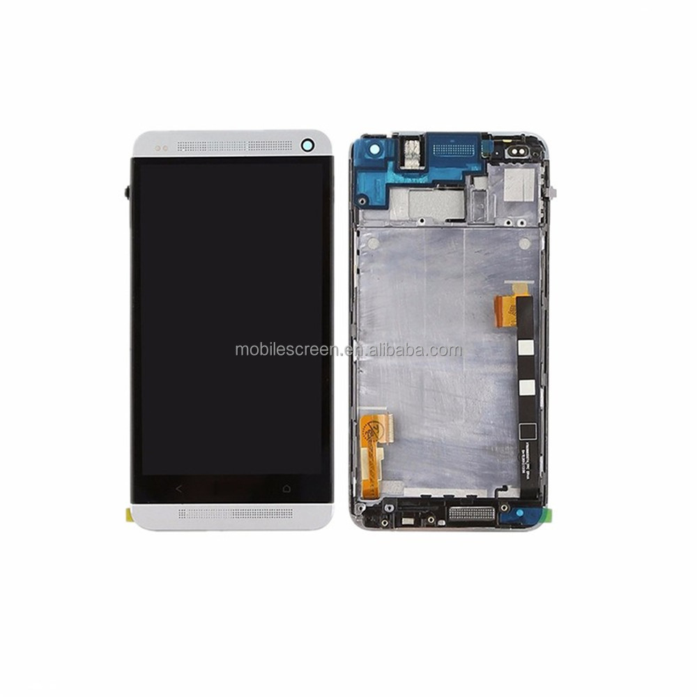 Mobile Phone LCD with Touch Screen for HTC One M7, Replacement One M7 LCD Display Screen For HTC
