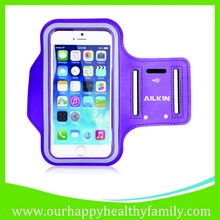 Adjustable Leather & Neoprene Sports Armband for your Phone