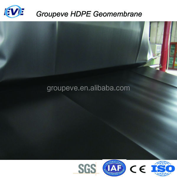 High Density Polyethylene Liner Geomenbrana Geomembrane For Swimming Pool