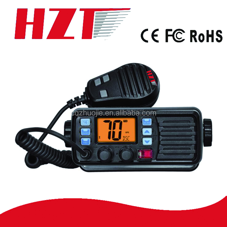 NEW Arrival External GPS Receiver IP67 RS-507M Float Long Range New VHF Marine Radio with DSC Function
