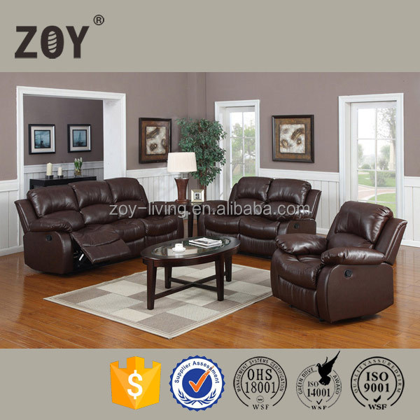 african leather turkish furniture couch living room sofa ZOY-93930
